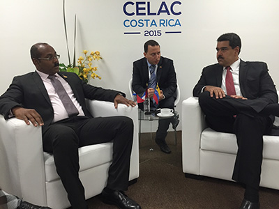 Photo of PM Browne Sees Positive Results from Meeting with Venezuelan President