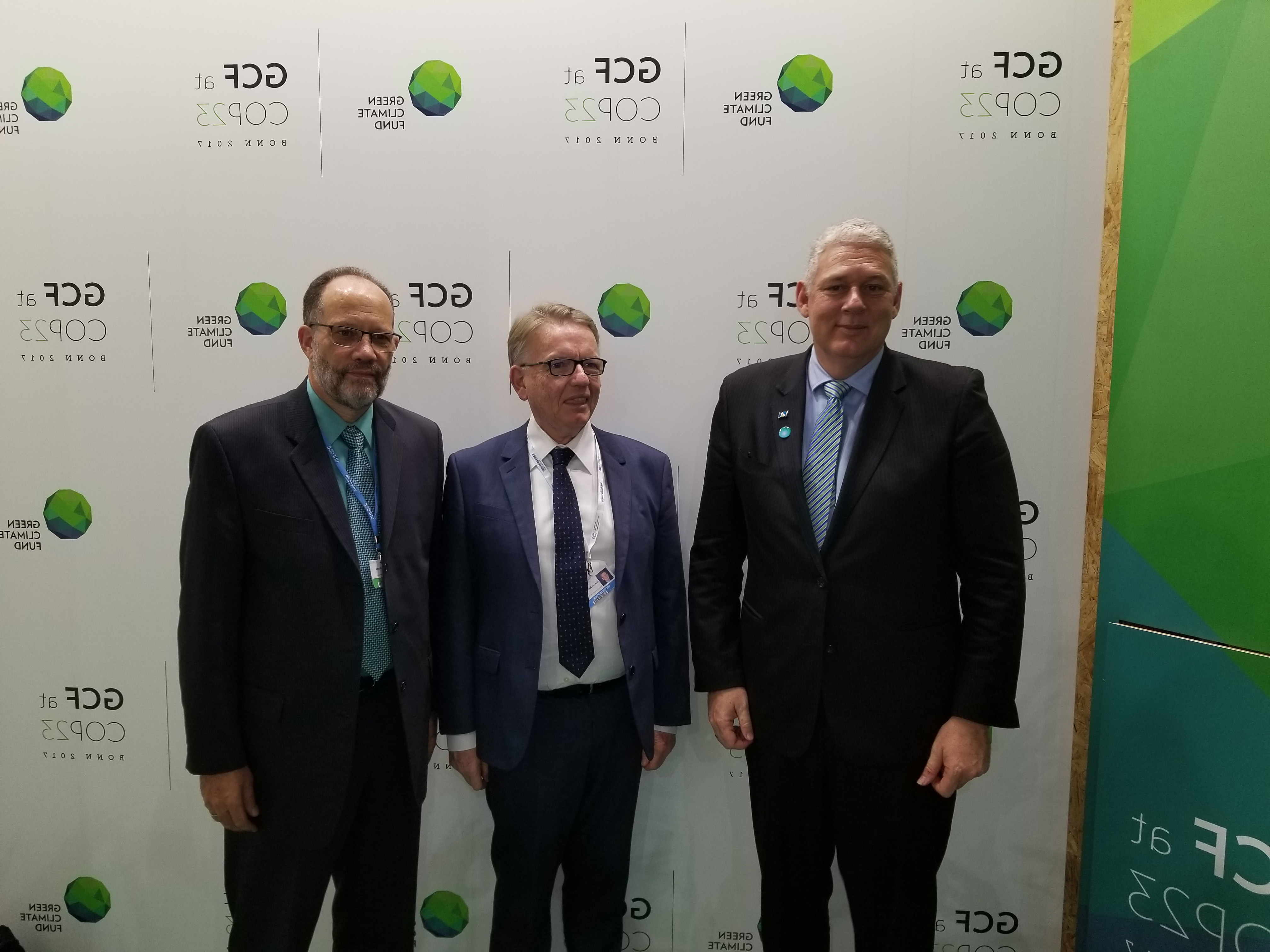 Photo of COP 23 – CARICOM engages Green Climate Fund Executive Director