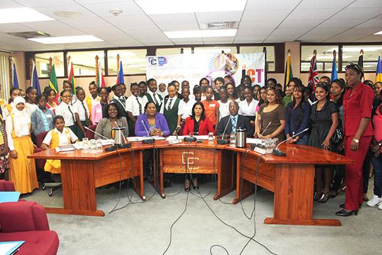 Photo of CARICOM Secretariat celebrates girls in ICT with interactive session, exhibit