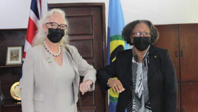 Photo of SG Accredits new UK Ambassador to CARICOM