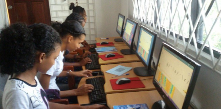 Photo of Guyanese Girls Code