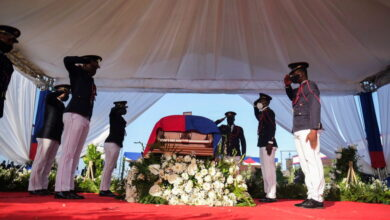 Photo of CARICOM Chairman's Statement at the Funeral of assassinated Haitian President Jovenel Moise