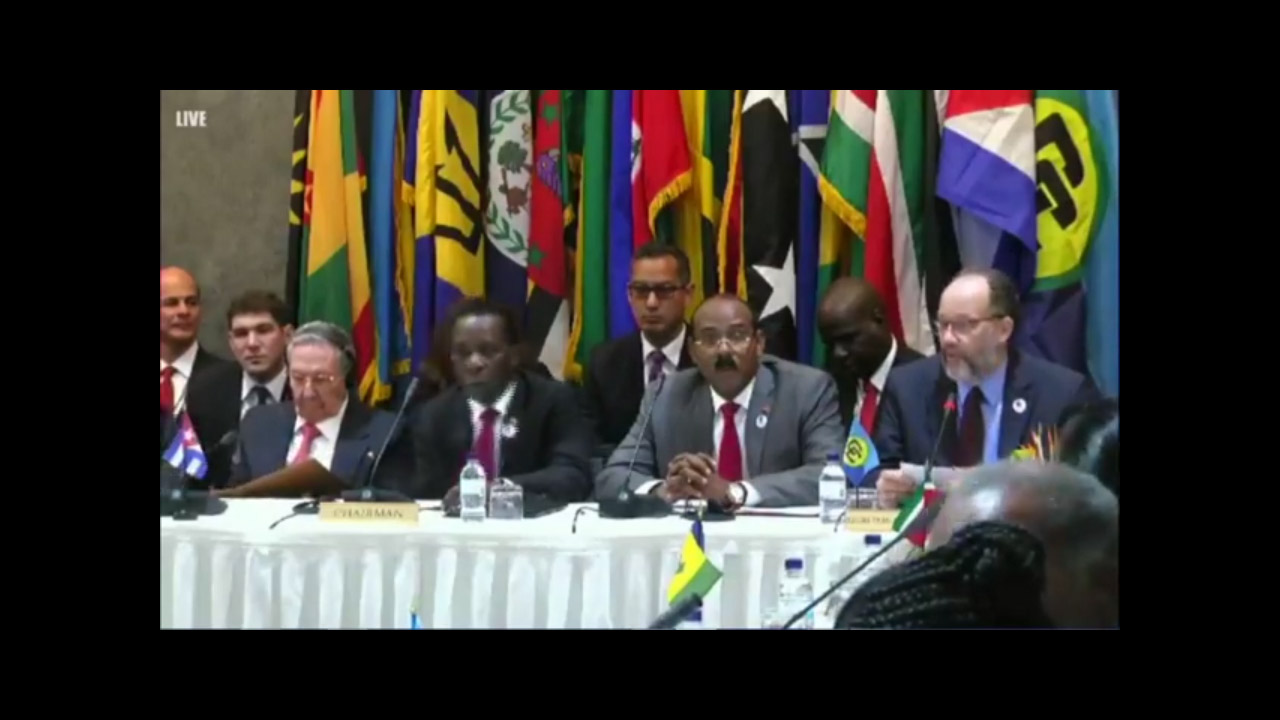Photo of DECLARATION OF ST. MARY'S ON THE OCCASION OF THE  SIXTH CARICOM-CUBA SUMMIT. ST. MARY'S, ANTIGUA AND BARBUDA, 8 DECEMBER 2017