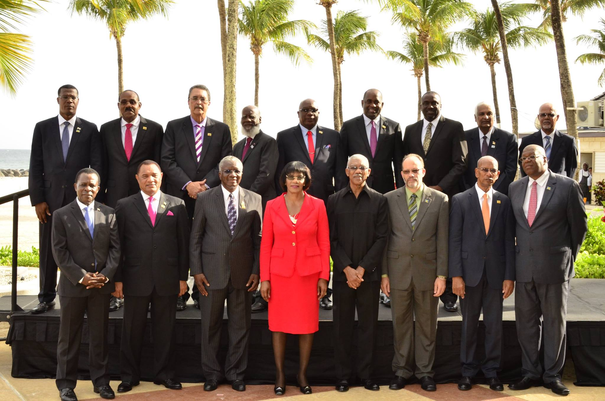 Photo of Communique issued at the conclusion of the 36th Regular Meeting of the Heads of Government of the Caribbean Community