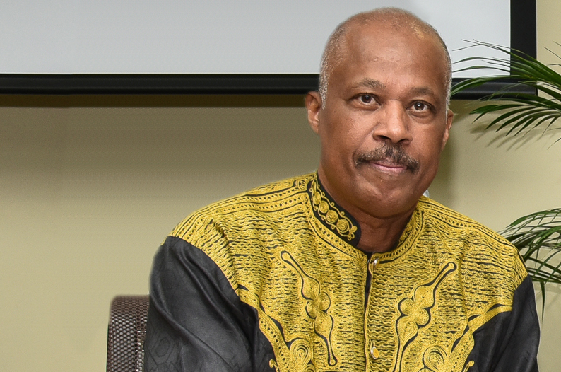 Chairman of the CARICOM Reparations Commission and Vice Chancellor of the University of the West Indies (UWI) Sir Hilary Beckles,