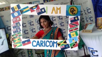 Photo of I AM CARICOM' Campaign showcased at Guyana's Diplomatic Fair