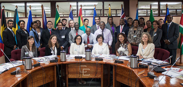 """Photo of Remarks By Ambassador Dr. Manorma Soeknandan, Deputy Secretary-General, CARICOM Secretariat, at The Opening Ceremony For The Workshop  """"Ibero-America And The Caribbean South-South Cooperation"""" 15 October 2014, CARICOM Secretariat"""