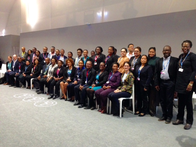 Photo of CARICOM advancing climate change goals at COP22