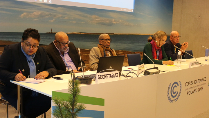 Photo of REGIONAL STATEMENT ON THE INTERGOVERNMENTAL PANEL ON CLIMATE CHANGE (IPCC) SPECIAL REPORT ON THE IMPACTS OF GLOBAL WARMING OF 1.5 °C ABOVE PRE-INDUSTRIAL LEVELS (1.5 °C SPECIAL REPORT)