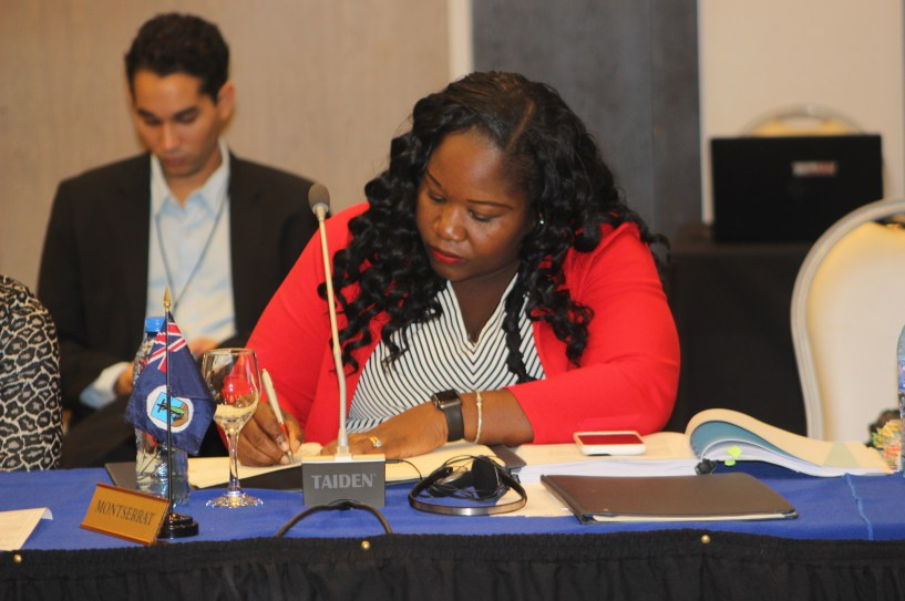 Photo of Montserrat signs two Agreements at CARICOM Inter-Sessional  Meeting