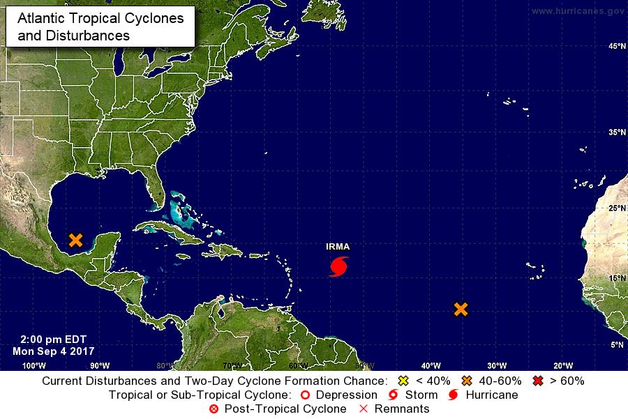Photo of Eastern/Northern Caribbean bracing for Hurricane Irma