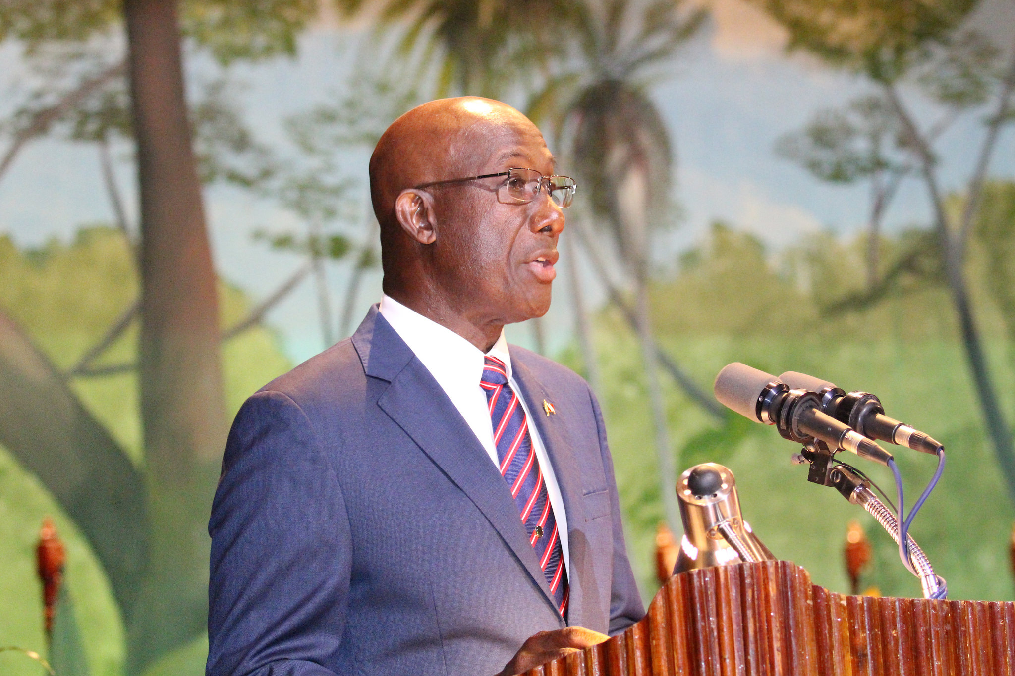 Photo of Speaking Notes by Dr the Honourable Keith Rowley, Prime Minister of the Republic of Trinidad and Tobago at the Thirty-Seventh Regular Meeting of the Conference of Heads of Government