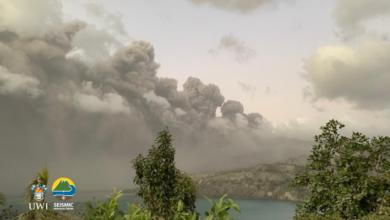 Photo of #La Soufriere – Monday's update