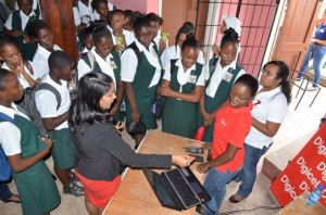 Photo of Linden girls learn more about ICT