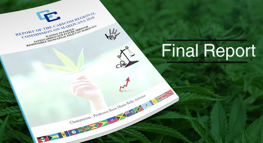 Photo of Final Report – Report of the CARICOM Regional Commission on Marijuana