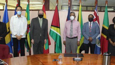 Photo of CARICOM SG gets courtesy call from Guyana's Ambassador Designate to the US