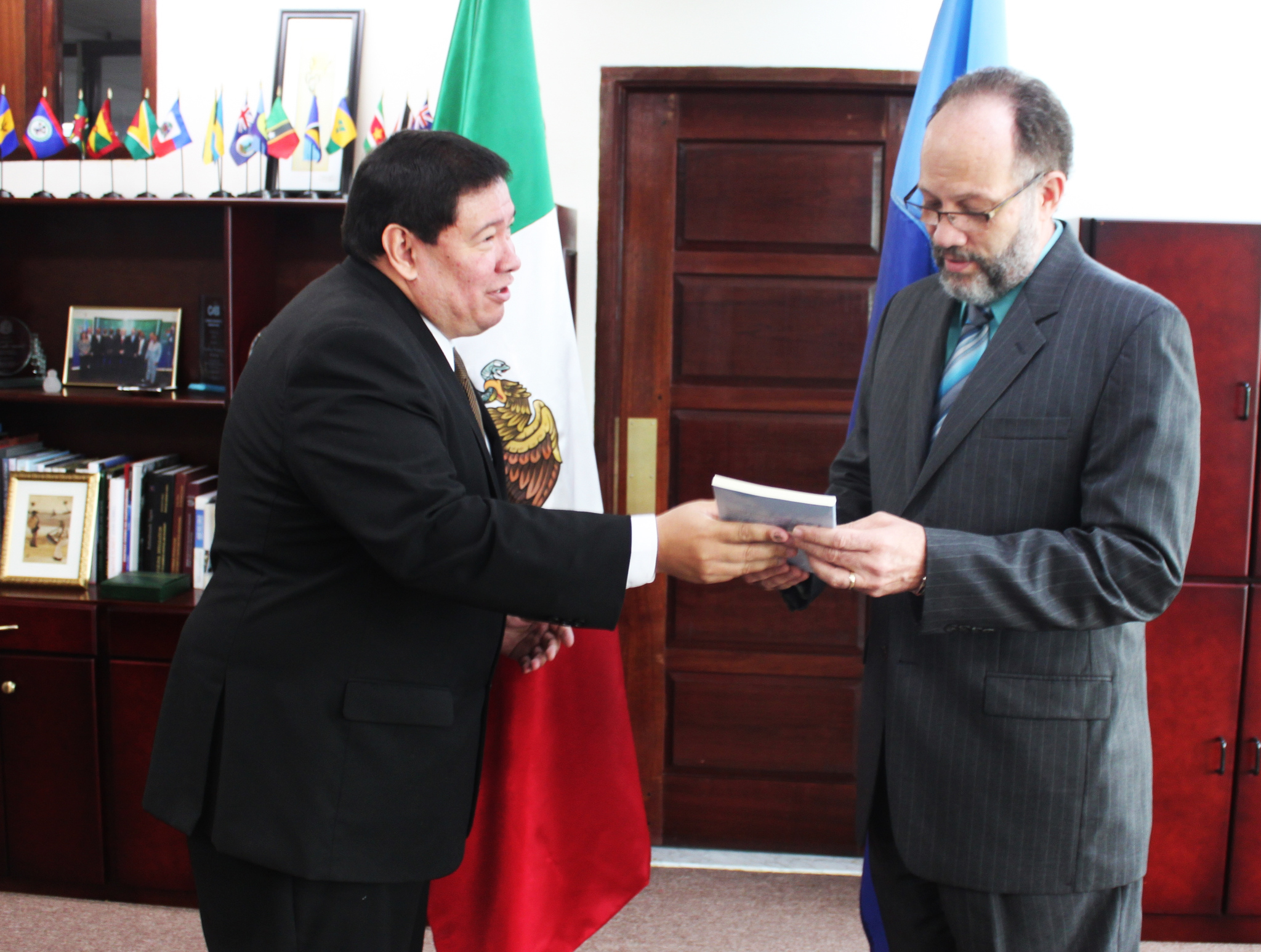 Photo of CARICOM accredits new Mexican envoy