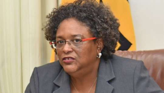 Barbados Prime Minister, the Hon. Mia Mottley Chair of CARICOM