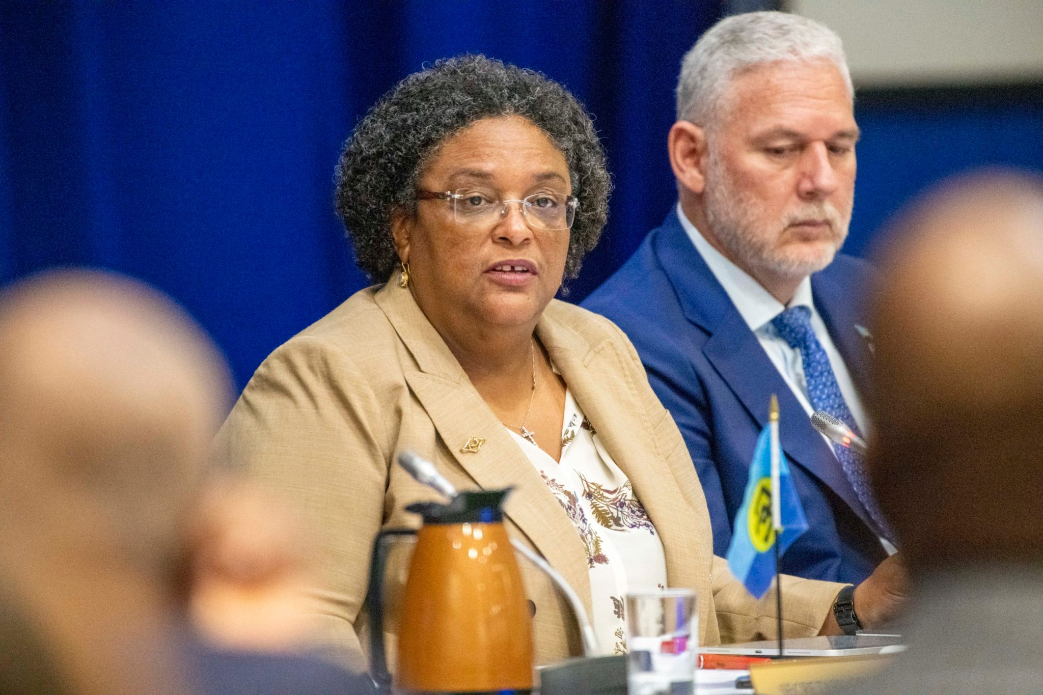Statement by the Honourable Mia Amor Mottley, QC, MP, Prime Minister of Barbados, in her capacity as Chairman of the Conference of Heads of the Caribbean Community (CARICOM) // March 7, 2020.
