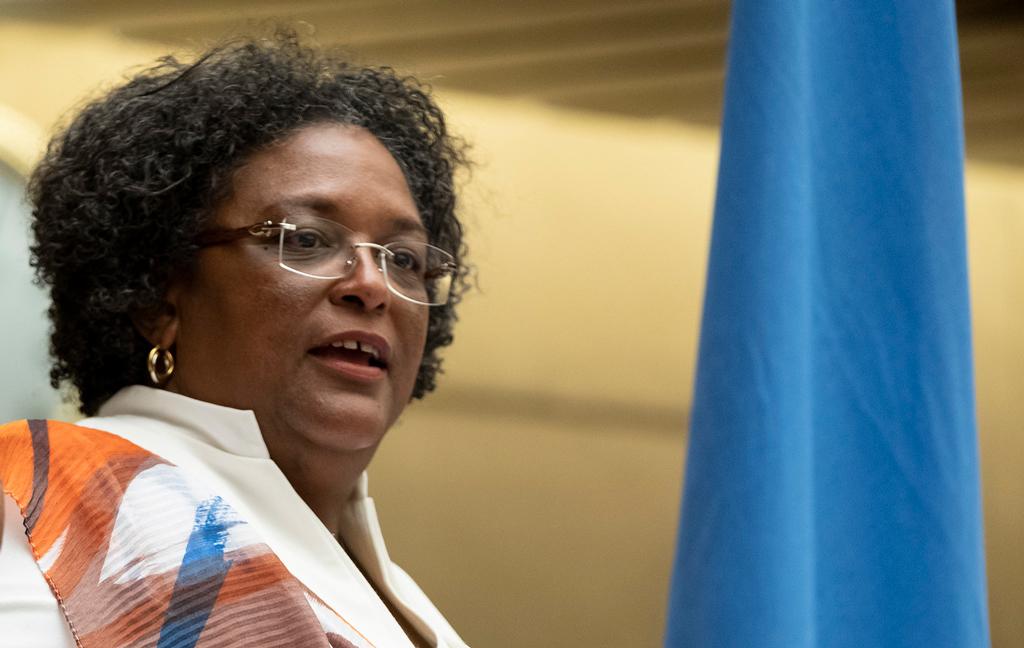 Chair of CARICOM, PM Mia Amor Mottley