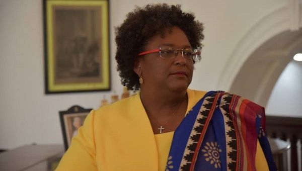 Prime Minister of Barbados and Incoming CARICOM Chair, the Hon. Mia Amor Mottley