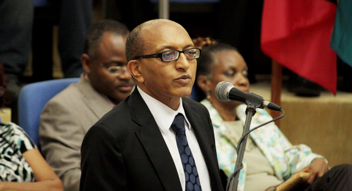 Photo of Remarks by Michael Hailu, Director, ACP/EU Technical Centre for Agricultural and Rural Cooperation (CTA) Caribbean Week of Agriculture, 6-10 October, 2014, Paramaribo, Suriname at the Opening Ceremony  8 October, 2014