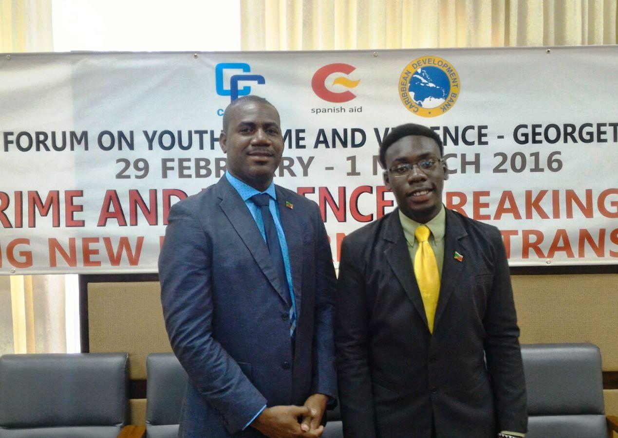 Photo of Deputy PM Richards Weighs In On CARICOM Youth Development Agenda