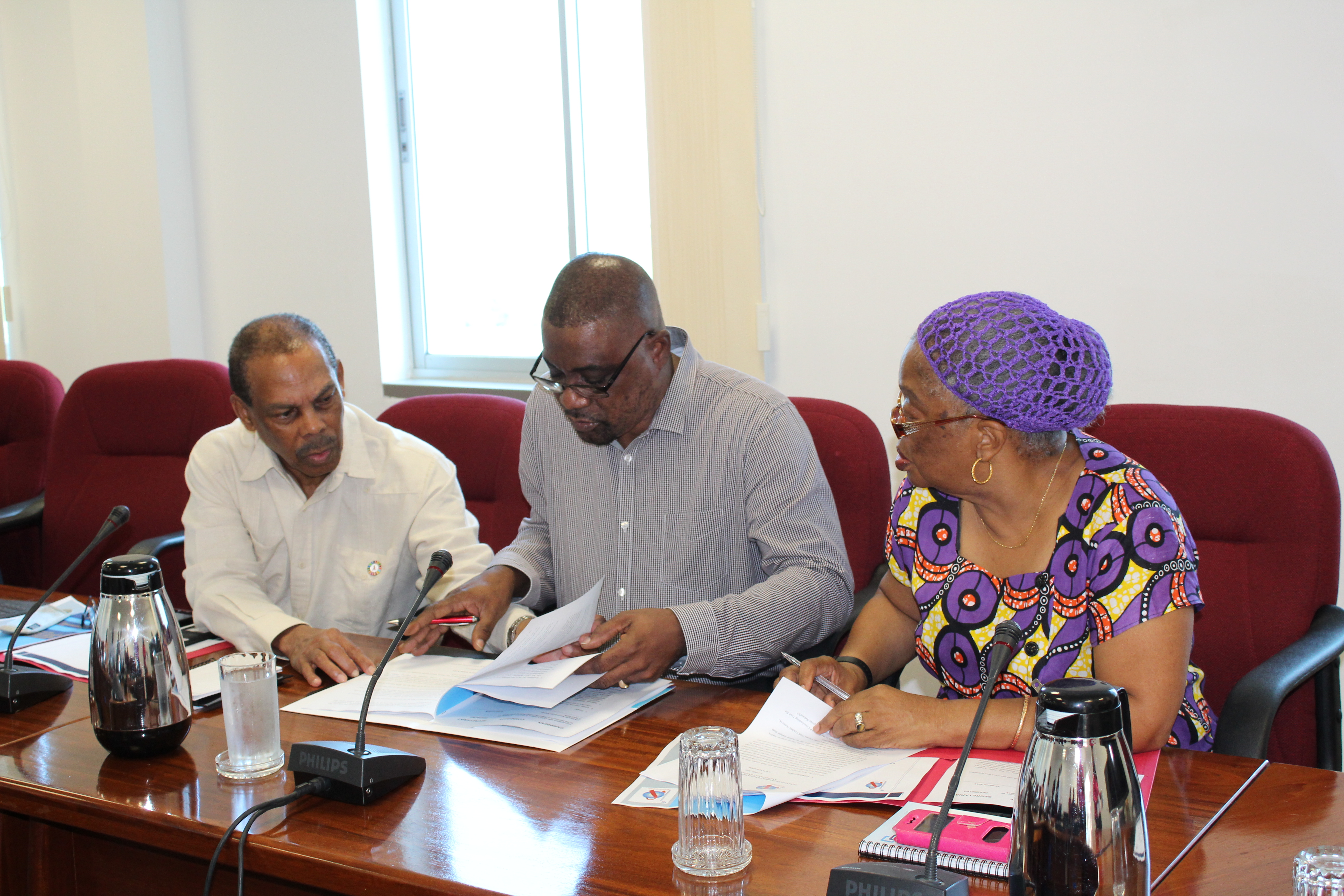 Photo of Dialogue on Faith Leaders' role in ending AIDS continues with consultation in Guyana
