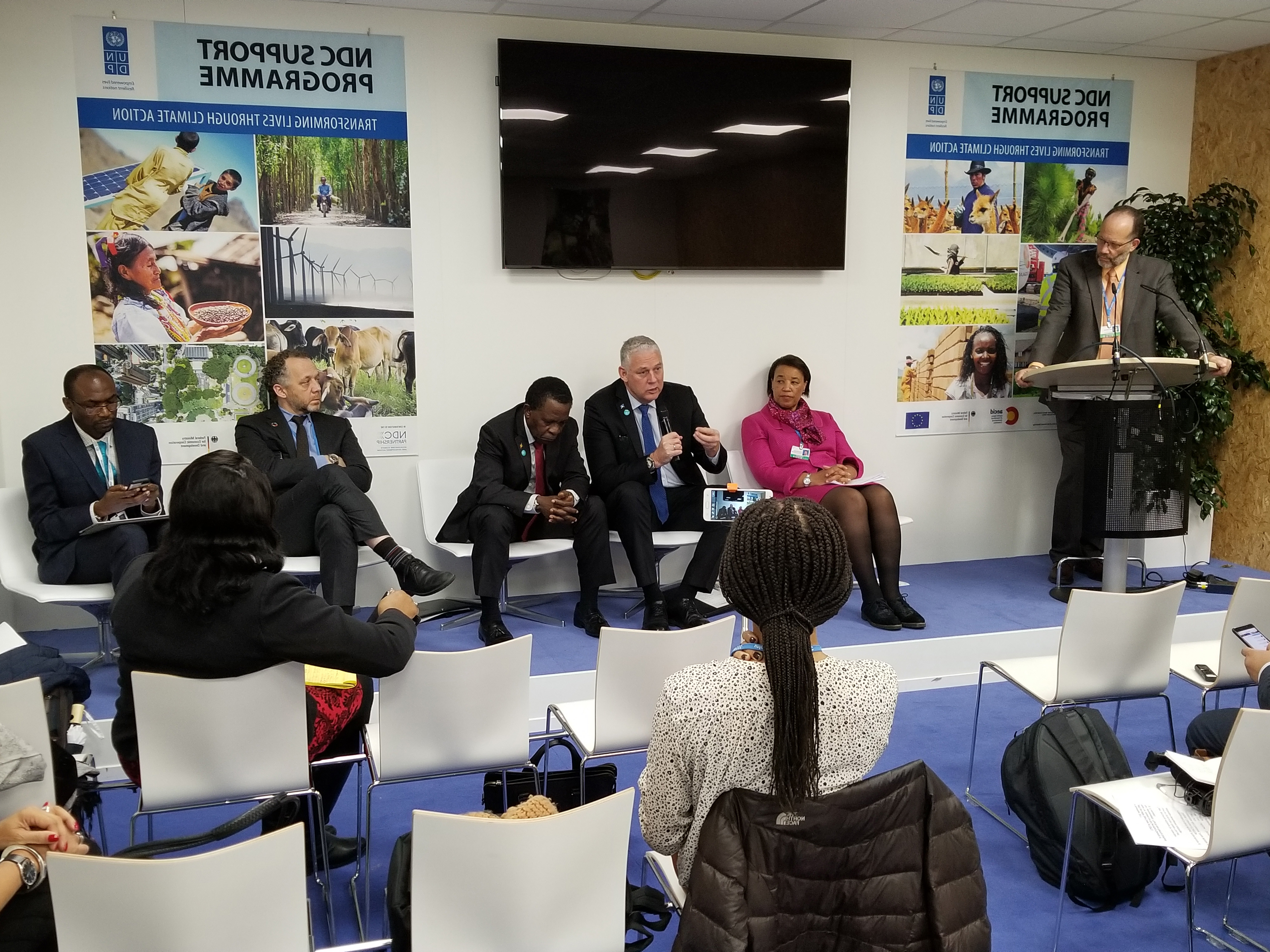 Photo of CARICOM and UNDP share a side-event at COP 23