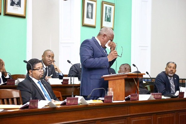 Photo of Emotional PM Minnis outlines plan to assist Dominicans