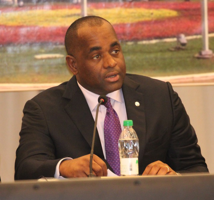 "Photo of PM Skerrit calls for ""collaborative approach"" for first climate resilience nation"
