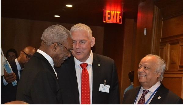 Photo of President Granger co-chairs special meeting between CARICOM Heads, UN SG