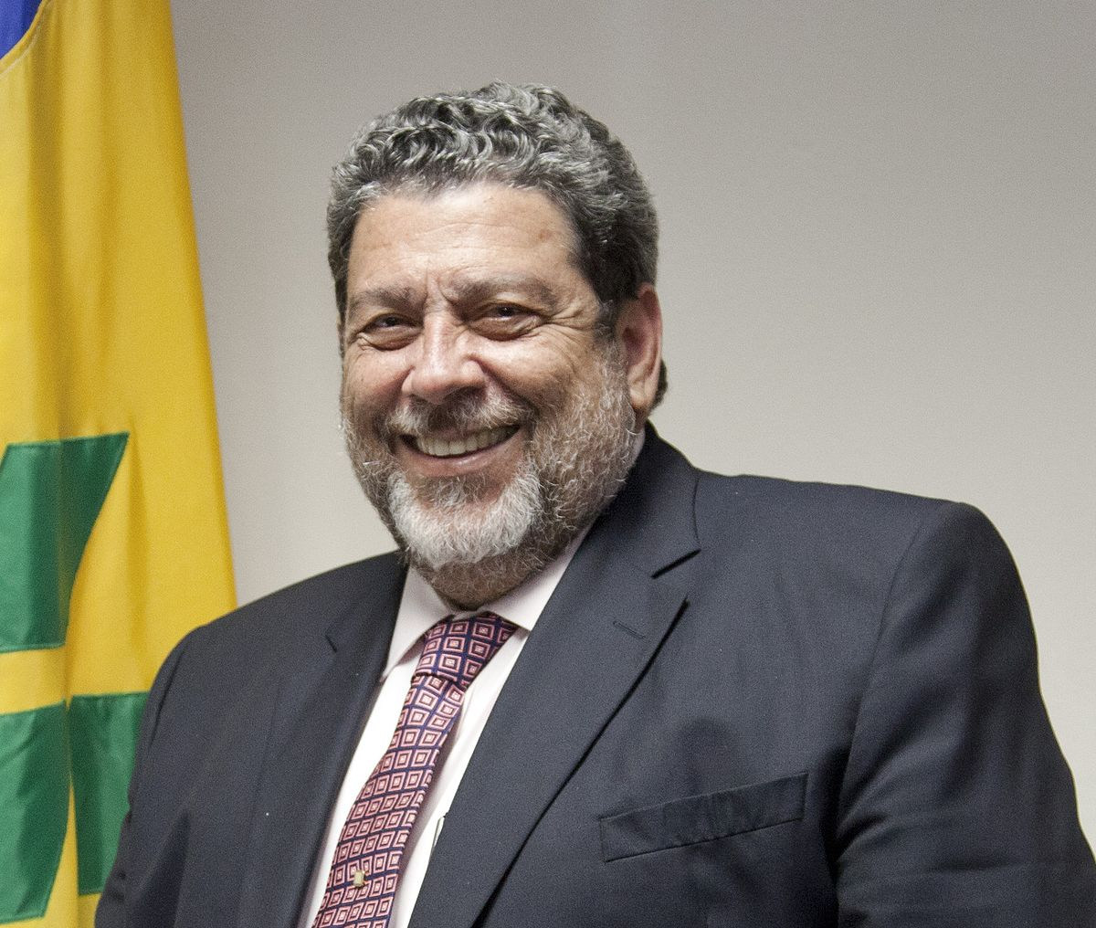 Photo of St. Vincent and the Grenadines Prime Minister Dr. Ralph Gonsalves and Former Prime Minister of Jamaica Mr. Bruce Golding to attend Regional Consultation on the CSME