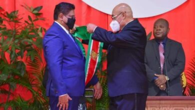 Photo of SURINAME | Chan Santokhi sworn is as new president of Suriname