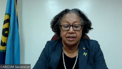 Photo of Remarks by Secretary-General Dr Carla Barnett on the occasion of Deputy Secretary of State of the United States Wendy Sherman's Virtual Roundtable with the Caribbean Community