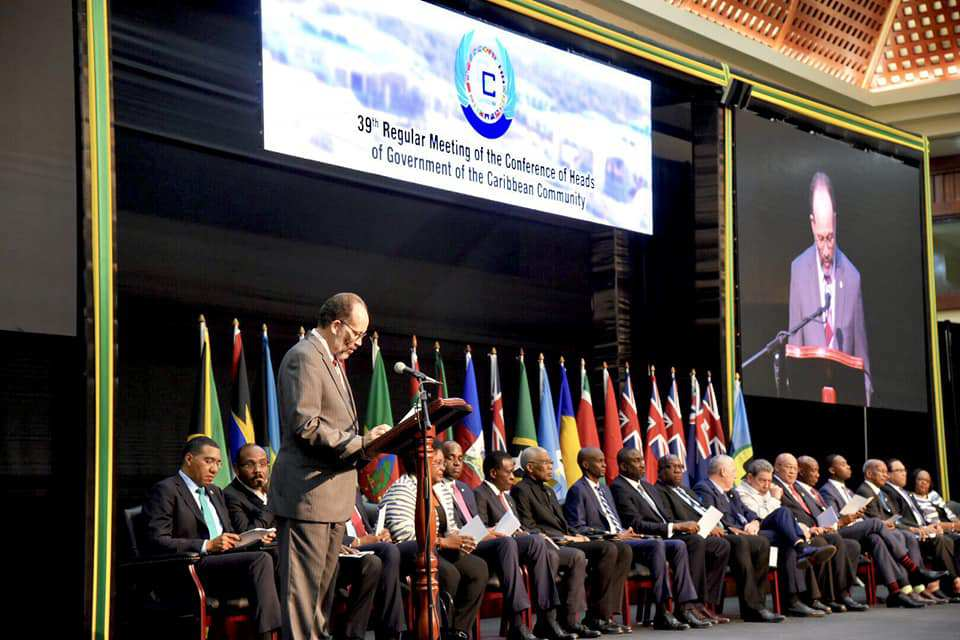 Photo of CARICOM Heads Begin Three-Day Meeting Today