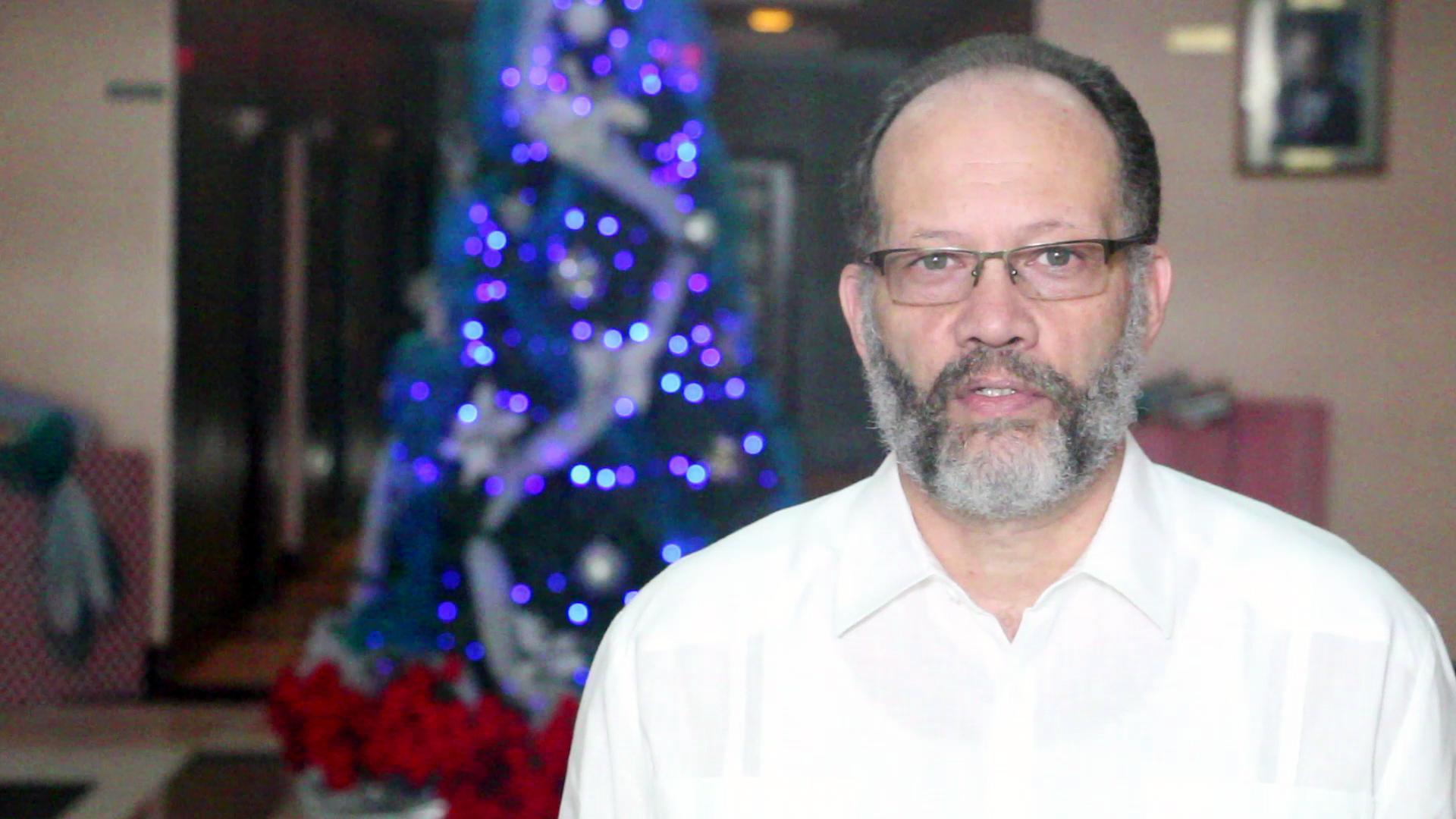 Photo of End of Year Message  by the Secretary-General  of the  Caribbean Community (CARICOM) Ambassador Irwin LaRocque