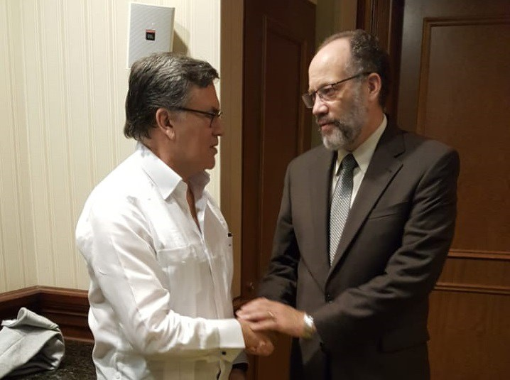 Photo of CARICOM Secretary-General discusses stronger cooperation with Head of IICA