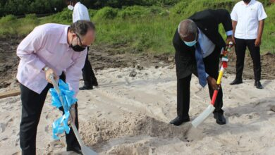 Photo of CARICOM SG turns sod for new Official Residence