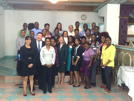 Photo of Regional Spanish teachers training under CARICOM-Mexico Cooperation Programme