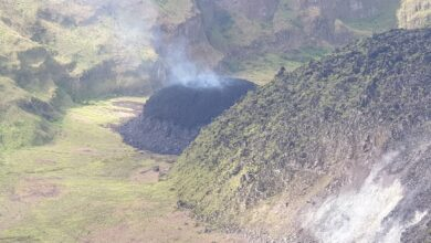 Photo of Alert Level raised at SVG's La Soufriere volcano