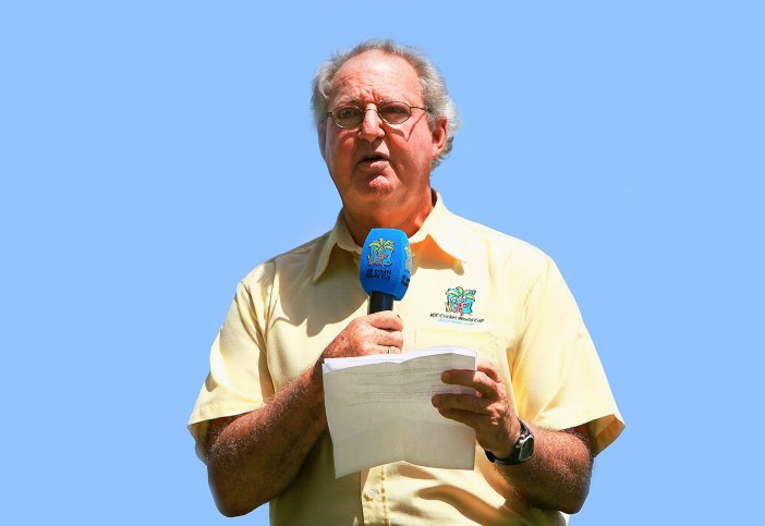Photo of Tony Cozier, voice of West Indies cricket, dies at 75