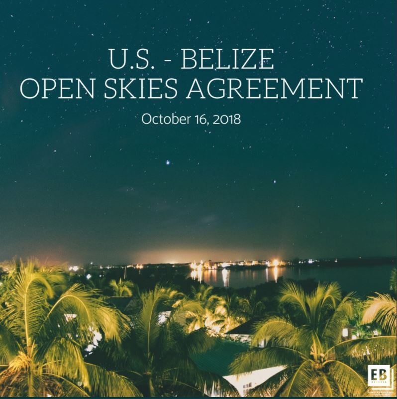 Photo of United States, Belize Sign Open Skies Air Transport Agreement