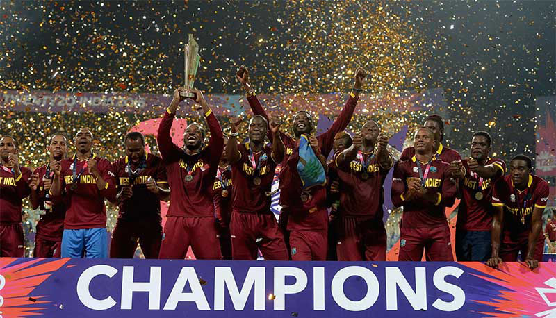 Photo of CARICOM Cricket governance sub-committee Chairman congratulates victorious Windies teams