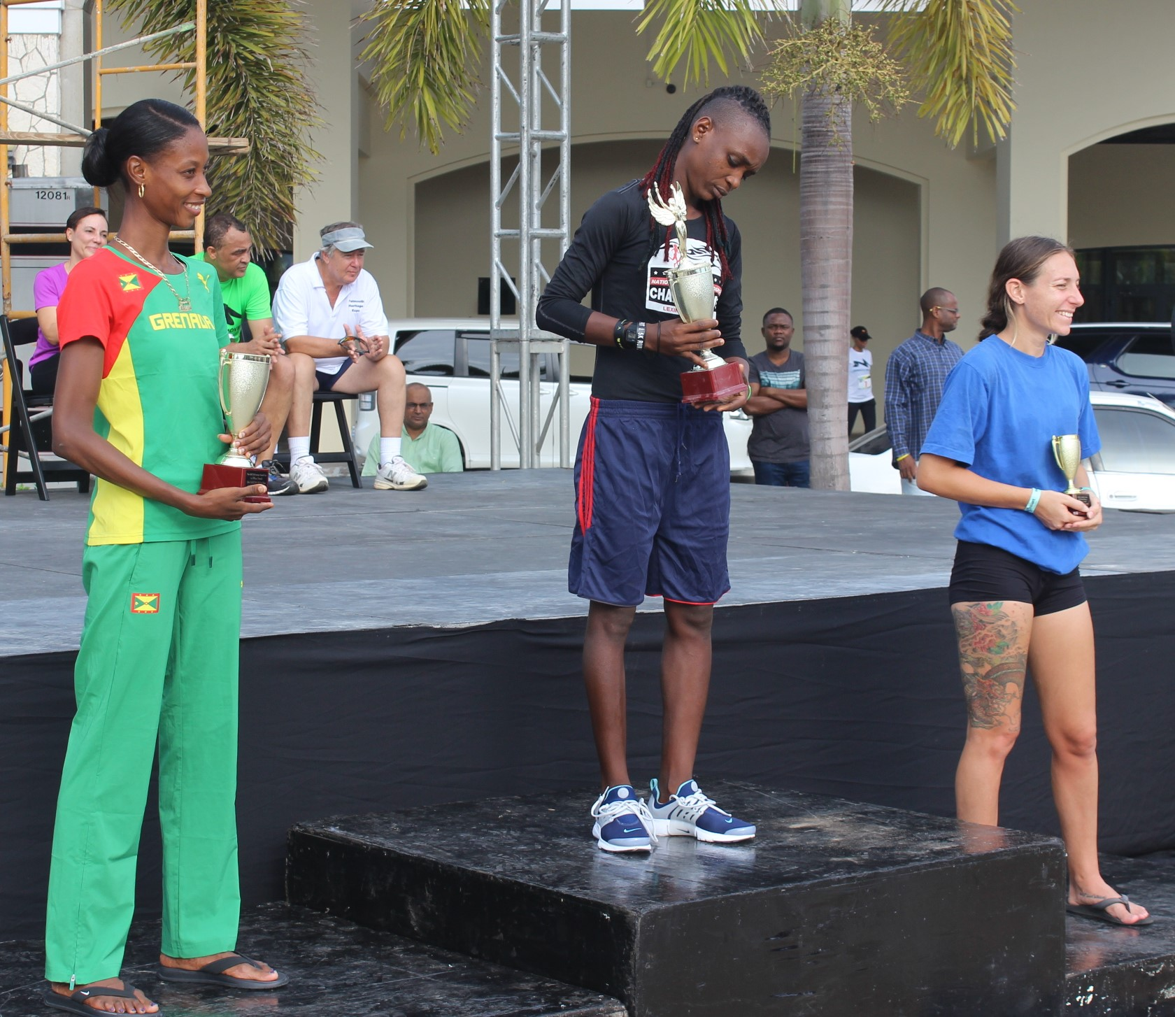Photo of Vincentian and Jamaican Athletes take CARICOM 10K Titles