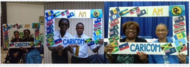 Barbados Youth Leaders at the national consultations on 10 March 2020